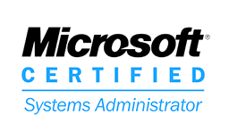 Logo Microsoft Certified Administrator